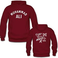 Muhammad Ali LETTER PRINTED PULLOVER HOODIES - CUSTOM YOUR TEXT HOODIE S-3XL