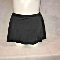 Swimsuits for All PLUS Swim Skirt Bottom w/Briefs BLACK NWT 12 16 18 20 22 W