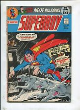 """Superboy #180 (9.0) """"Prince Of The Wolf-Pack"""" 1971"""