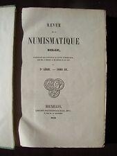 Revue de la numismatique Belge - T. III 1853