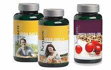 Nikken Kenzen Mega Daily 4 Women and Omega Green + DHA