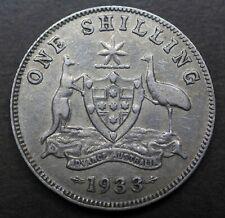 Australia  Shilling 1933  aF  S193301