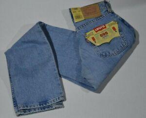 Jeans Levi's 595.04.82 donna gamba diritta colore chiaro con cerniera vita alta