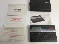 Franklin Computer Spell Master Sa-103 Linguistic Technology Looks Works Great