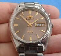 Orient crystal 3 stars automatic watch men 21 jewels  Vintage (original)
