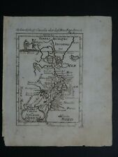 1719 Manesson MALLET Atlas map  CANADA ou NOUVELLE FRANCE - Greenland - Iceland
