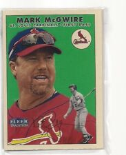 1991 FLEER GLOSSY TEAM SET ST LOUIS CARDINALS MARK MCGWIRE A