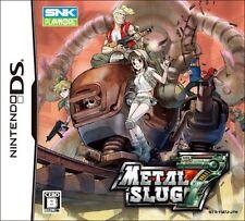 Used Nintendo DS Metal Slug 7 Japan Import (Free Shipping)