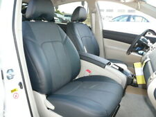 2010-2015 Toyota Prius Clazzio PVC Leatherette Black Front & Rear Seat Covers