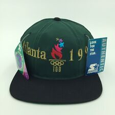 NEW Vintage 90s Atlanta Olympics 1996 Snapback Hat Cap Authentic Starter