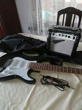 e gitarre mit verstärker