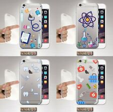 Cover For , Samsung, Clear, Silicone, Soft, Doctors, Medicine, Scientific