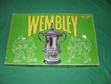 Wembley Football Board Game FA The Thrilling Cup Tie Game Ariel 1960s COMPLETE