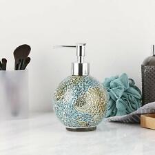 Bathroom Accessory Glass Soap Dispenser-Lotion dispenser Handmade mosaic glass