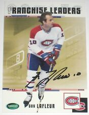GUY LAFLEUR SIGNED PARKHURST ORIGINAL SIX MONTREAL CANADIENS CARD AUTOGRAPH AUTO