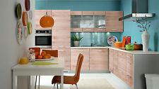 Küche, Schränke, Küchenzeile Eiche sanremo hell Fronten 2 Neu&Schnell