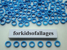200 KNEX BLUE SPACER RINGS Bulk Standard Parts/Pieces Washers Bushings Spacers