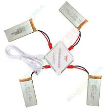 2pcs 600mAh Battery+JST 4in1 Plug Charger For JXD 509G 509W 510G RC Drone AU!