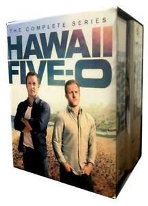 HAWAII FIVE-O 5-0 : Complete Series Seasons 1-10 (DVD Box Set)  USA