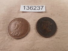 1918, 1882 H Canada Large Cents - Nice Collector Coins - # 136237