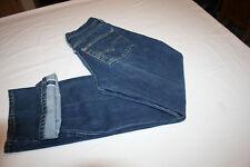 Vtg Levis Denim 501 Redline jeans 26 x 31 measured 524 Button Selvedge USA Dark