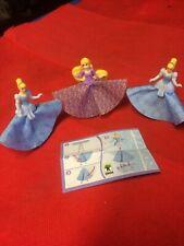 3 X Kinder Joy Disney Princess Chocolate Surprise Egg Treat + Toy - 0.7