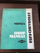 1979 Chevrolet Monza Shop Manual ST 300-79