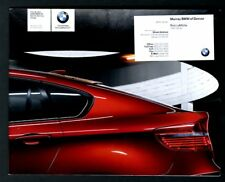 BMW X6 dealer showroom brouchure 32 page exclusive X6 booklet