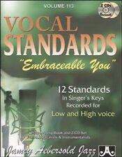 AEBERSOLD JAMEY - Tout instrument- Divers Auteurs - Vol 113 Vocal Standards + Cd