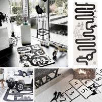 Skandinavischer Spielteppich Kinderteppich Matte für Spaß Straße Hickelkasten