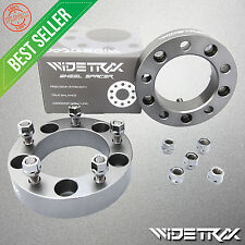 "(4) WIDETRAX 1.5"" Wheel Spacers 38mm 5x139.7 5x5.5 1/2"" Titanium with Lug Nuts"