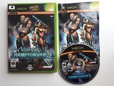 Unreal Championship 2 The Liandri Conflict  Original Xbox Complete FREE SHIPPING