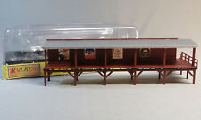 MTH RAILKING ELEVATED STATION PLATFORM O GAUGE freight train subway 30-90027 NEW