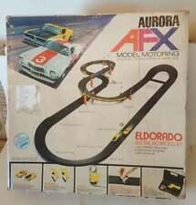 Vintage 70's Aurora AFX Eldorado Electric Ho Racing Set