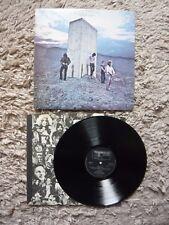 La OMS quién sigue Reino Unido 1971 Track Records A1/B2 Vinilo Lp Deluxe texto Exc