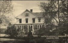 Madison CT Watrous Sanatarium Postcard