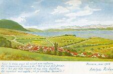 SUISSE DIVICO Drame National inédit en 5 actes par A Ribaux à BEVAIX en 1908