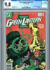 Green Lantern Corps #224 CGC 9.8 White Pages Last Issue DC Comics 1988