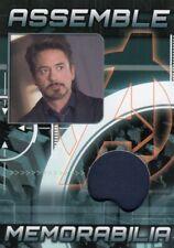 Avengers Assemble AS-3 Tony Stark Memorabilia Relic Card