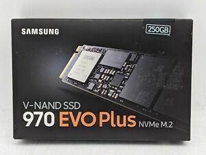 Samsung 970 EVO Plus Series 250GB, Internal, M.2 (MZ-V7S250B/AM) SSD -NR5696