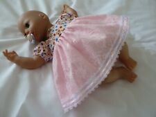 Baby Annabell Nuovo di Zecca FRATELLO Pantaloncini A Righe 2 Pezzi Set 17-19 pollici Boy Doll