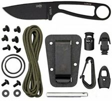 Best Fixed Blade Knife Carbon Steel Blade Skeletonized Handle by ESEE