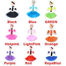 Short-Glove HSGL TUTU 4 Set Skirt Socks Kids/Girl/Lady TUTU Ballet Size L