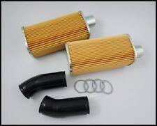 Honda 305 SuperHawk CB72 CB77 CP77 CYP77 Element Air Cleaner LH/RH & RUBBER TUBE