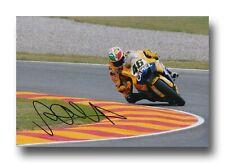 VALENTINO ROSSI HAND SIGNED 12X8 PHOTO - MOTOGP AUTOGRAPH - YAMAHA.