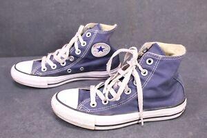 CB247 Converse All Star Classic Chucks High-Top Sneaker Gr. 35 Canvas blau