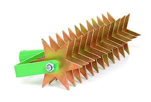 Kultivator Sternfräse Krümler Bodenkrümler Rollhacke 41 cm 12-Star TMX