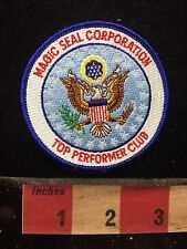 Too Performer Club MAGIC SEAL CORPORATION Patch -Advertising / Uniform 77AA