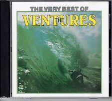 Very Best of the VENTURES [EMI Australia] 1992 Oop CD 60s Oldies Surf Rock