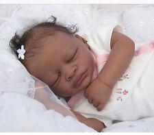 ❤ belle reborn doll baby ❤ custom made from BI RACIAL Aisha Kit ❤ Noël commande